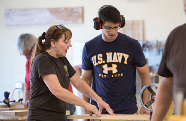 learn to use a planer, always wear eyes and ears, basic woodworking classes