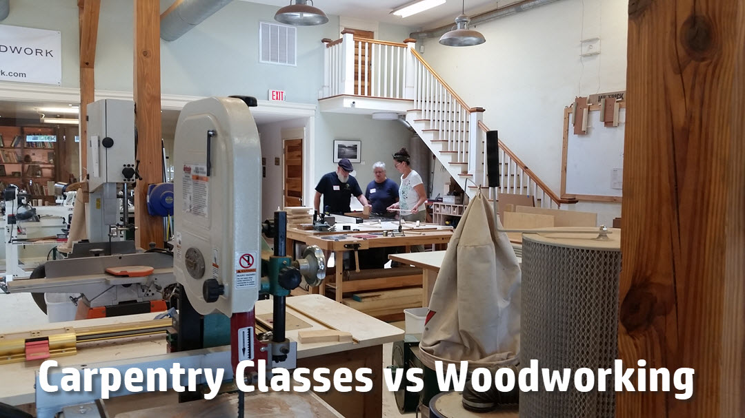 Carpentry School or Woodworking Classes