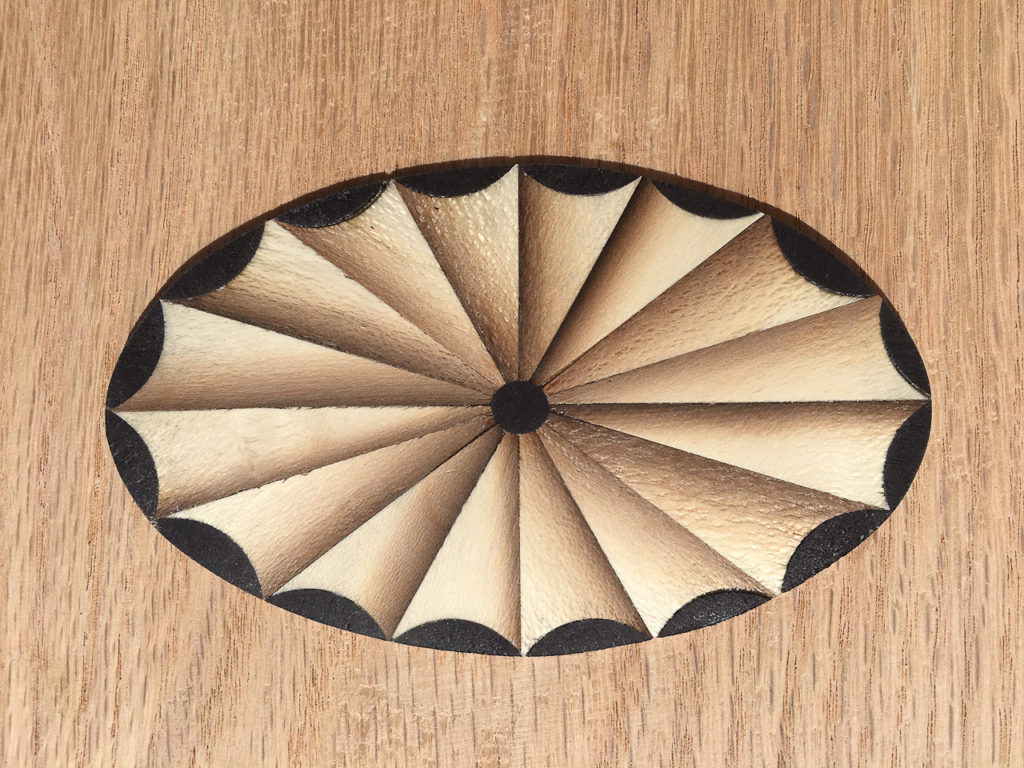 How to Make a Federal Period Fan Inlay Using Veneers