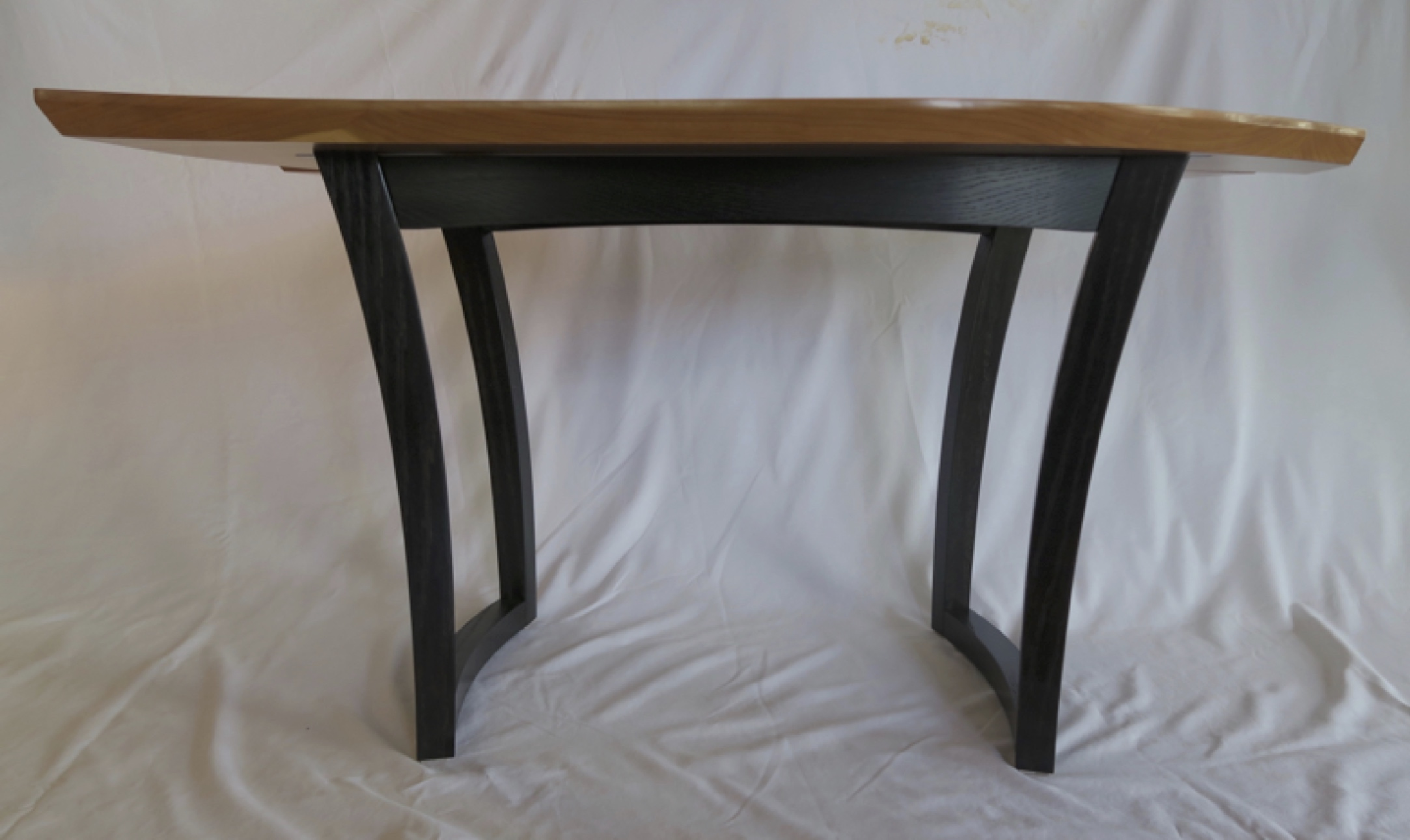 Bob Table legs ebonized