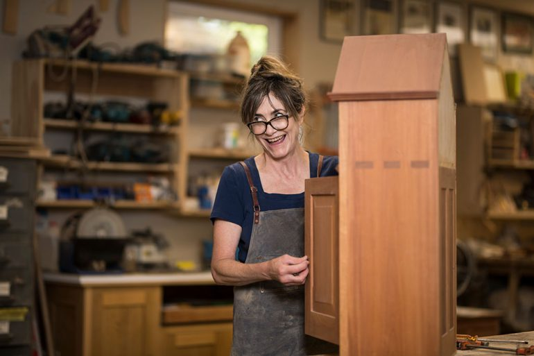 An Interview with Nancy Hiller – Cabinet Maker and Furniture Maker